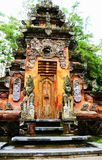 Temple indou antique chez Bali Images libres de droits