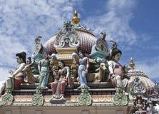 Temple indou de Sri Mariamman images libres de droits