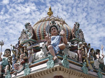 Temple indou de Sri Mariamman Photos stock
