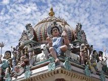 Temple indou de Sri Mariamman photos stock