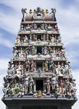 Temple indou de Sri Mariamman Photographie stock libre de droits