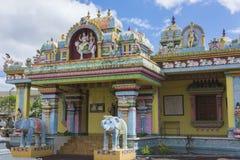 Temple indou en Îles Maurice Photo libre de droits