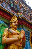 Temple indou, Singapour Images libres de droits