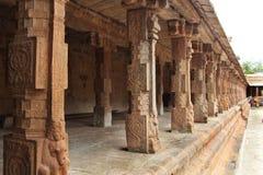 Temple inside hall Stock Photo