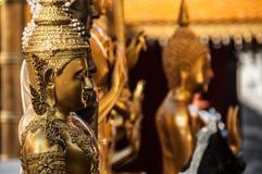 Temple intérieur de Doi-Suthep image libre de droits