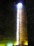 Temple intérieur de Horus chez Edfu Photos libres de droits