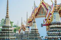 Temple interior Wat Pho temple bangkok Thailand Stock Images