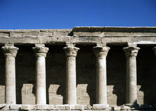Temple of Isis Royalty Free Stock Photos