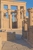 The Temple of Isis at Philae (Egypt) Royalty Free Stock Images