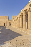 He Temple of Isis at Philae (Egypt)-vertically Stock Photography