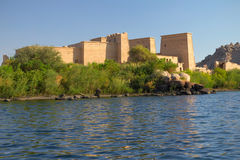 The Temple of Isis at Philae Island Stock Photo