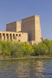 The Temple of Isis at Philae island (Egypt) Royalty Free Stock Image