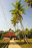 Temple on the island of Don Khon Royalty Free Stock Photography