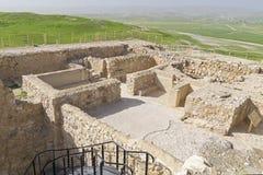 Temple israélite au téléphone Arad en Israël photos libres de droits