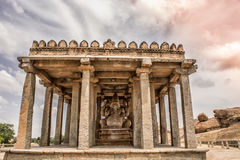 Temple. Its been taken in Hampi Royalty Free Stock Photo