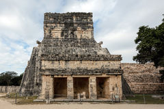 The Temple of the Jaguars in Chichen Itza, Yucatan, Mexico Stock Photography