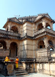 Temple Jain chez Palitana Photo stock