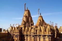 Temple Jain dans l'Inde, jaïnisme images stock