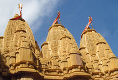 Temple Jain dans l'Inde, jaïnisme image stock