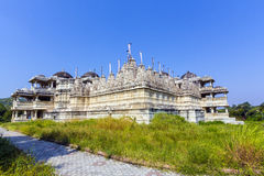 Temple Jain dans Ranakpur Photo stock