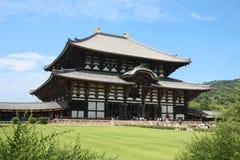 Temple in Japan. Todai-ji temple in Nara, Japan Royalty Free Stock Images