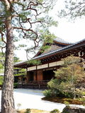 Temple in Japan. Garden in Japan temple Royalty Free Stock Photo
