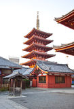 Temple in Japan, Sensoji Royalty Free Stock Images
