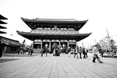 Temple in Japan, Sensoji Royalty Free Stock Photo
