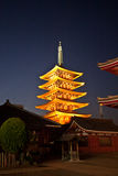 Temple in Japan, Sensoji Stock Photos
