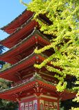 temple in Japanese Tea Garden, San Francisco Royalty Free Stock Photography