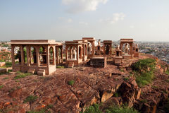 The temple of Jaswant Thada Stock Photos