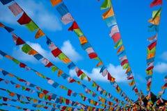 Temple Jinyu Guanyin de Sanya Nanshan Buddhist Image libre de droits