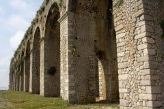 Temple of Jove in Terracina, Lazio, Italy. Stock Photography