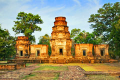Temple in the jungle Royalty Free Stock Images