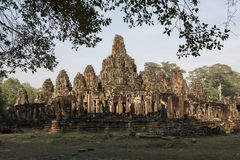 Temple in the jungle. Temple in jungle in Angkor Siem Reap Cambodia Royalty Free Stock Photo