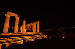 The temple of Juno at Agrigento Stock Photos