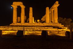 Juno Temple in Agrigento archaeological park Stock Photography