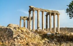 Temple of Juno Caelestis at Dougga, an ancient Roman town in Tunisia Royalty Free Stock Image