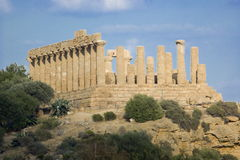 Temple of Juno Lacinia, Agrigento Stock Image