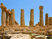 Temple of Juno in Valley of the Temples Royalty Free Stock Photo