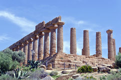 Temple of Juno - Valley of the Temples Stock Image