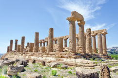 Temple of Juno - Valley of the Temples Royalty Free Stock Images
