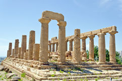 Temple of Juno - Valley of the Temples Royalty Free Stock Photo