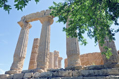 Temple of Juno - Valley of the Temples Stock Photo