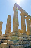 Temple of Juno - Valley of the Temples Royalty Free Stock Image