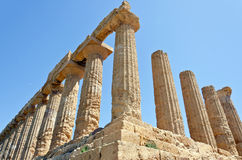 Temple of Juno - Valley of the Temples Stock Images