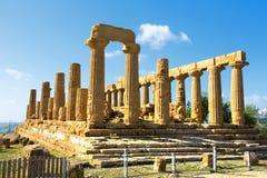 Temple of Juno Stock Image
