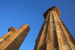 Temple of Juno at Valley of Temples in Agrigento Royalty Free Stock Image