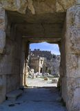 Temple of Jupiter at Baalbek Royalty Free Stock Image