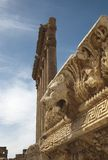 Temple of Jupiter, Baalbek Stock Photo